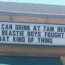Thank you Beastie Boys