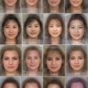 The Average Womans Face From 40 Different Countries