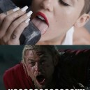 Thors Reaction To Wrecking Ball