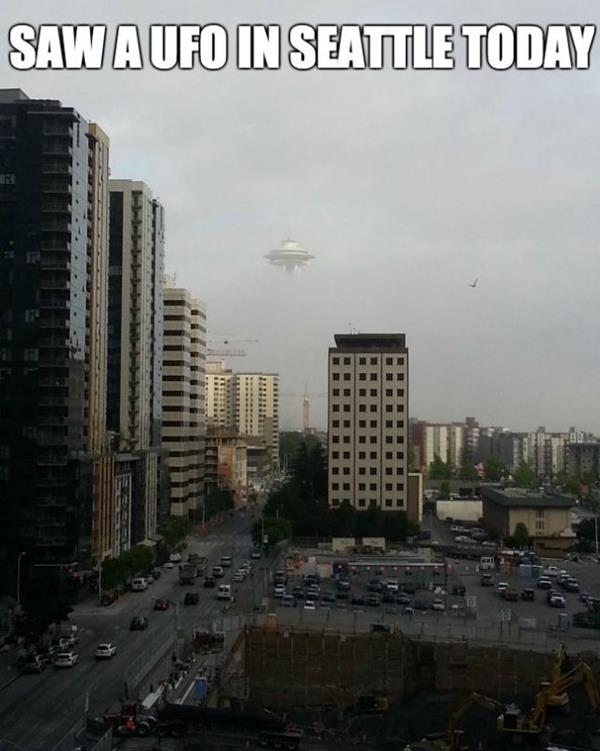 UFO In Seattle
