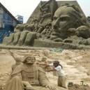 Cool Sand Sculptures