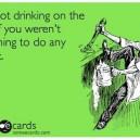 Drinking on the job
