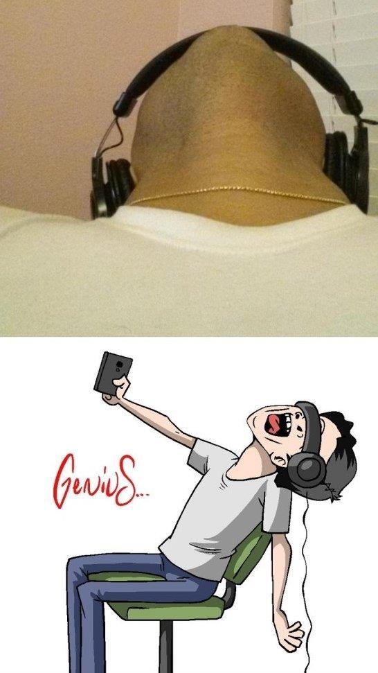 Genius Selfies