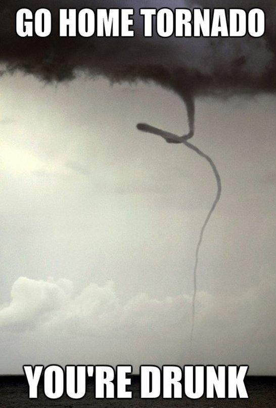 Go home tornado
