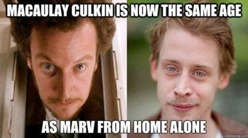 Home alone is old…