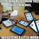 How Rich People Play Cards
