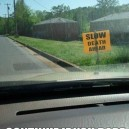 I would turn around…