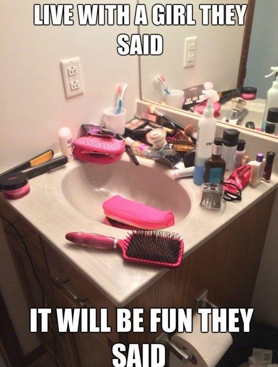 Living with girls