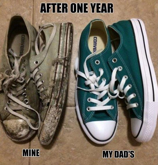 Me vs. My Dad