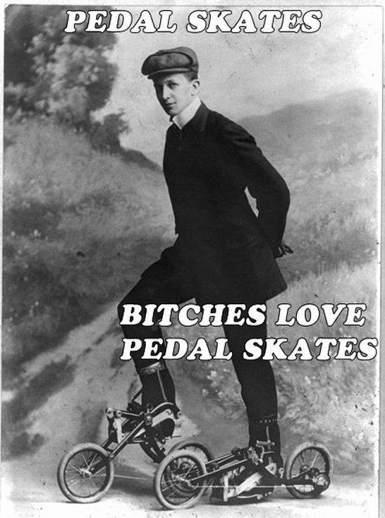 Pedal skates