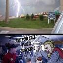 Thor Doesn't Like Mcdonalds