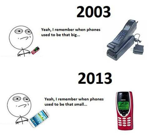 Times Change…