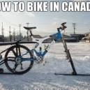 A Canadian Bike
