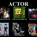 Actors Expectation vs. Reality