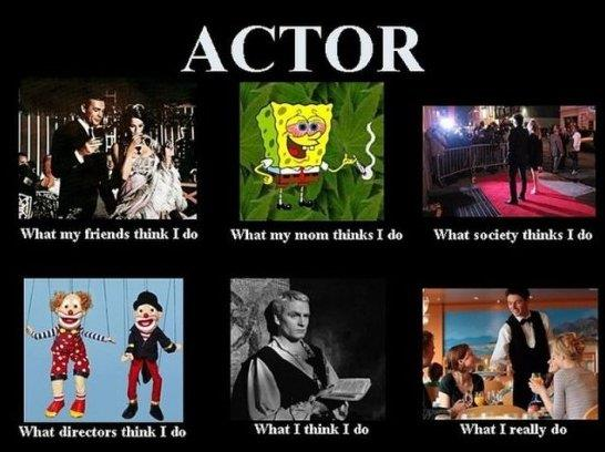 Actors Expectation vs. Reality
