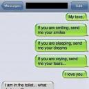 Awkward Text Message