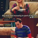Big Bang Theory Quote