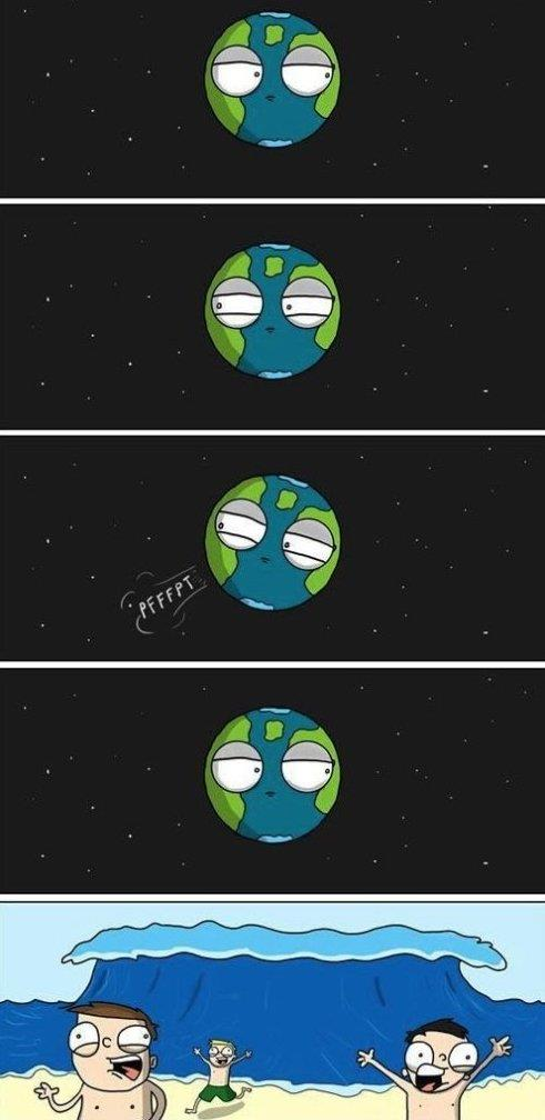Earth is sorry