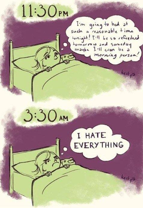 Every single night