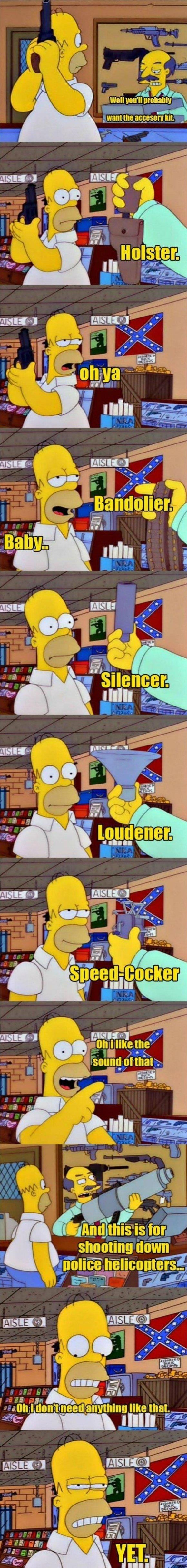 Funny Homer Simpsons