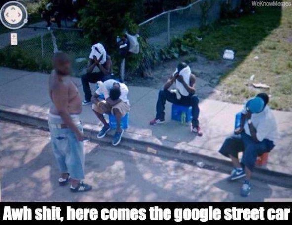Google Street Car