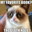 Grumpy Cats Favorite Book