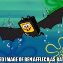 Leaked image of Ben Affleck as Batman
