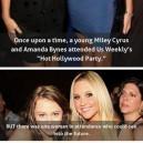 Miley Cyrus and Amanda Bynes