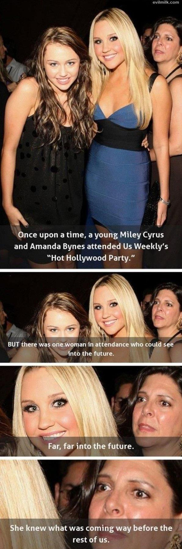 Miley Cyrus and Amanda Bynes