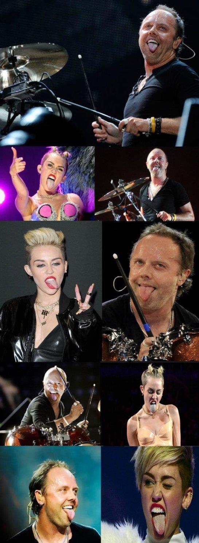 Miley vs. Lars