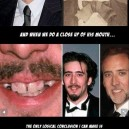 Nicolas cage is a Vampire