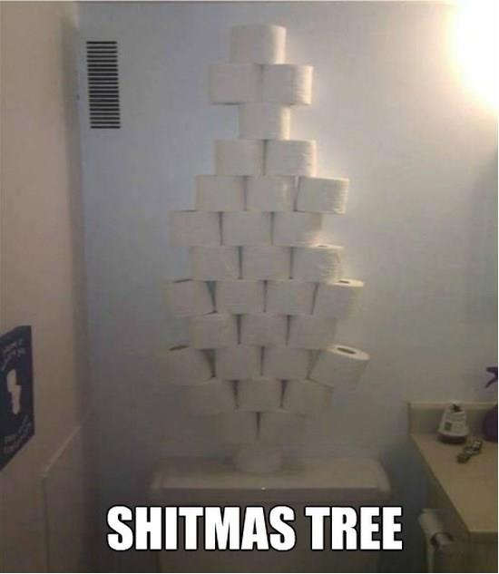 Shitmas tree