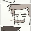 Sideburns Vs. Moustache
