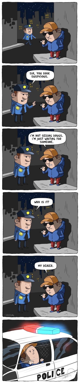 Suspicious Guy