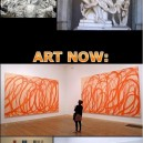 Art Then and Art Now