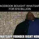 Facebook Bought Whatsapp meme