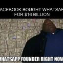 Facebook Bought Whatsapp meme