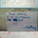 Funny letters from kids