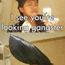 Looking Gangster
