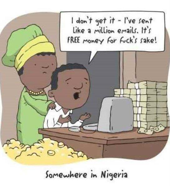 Somewhere in Nigeria
