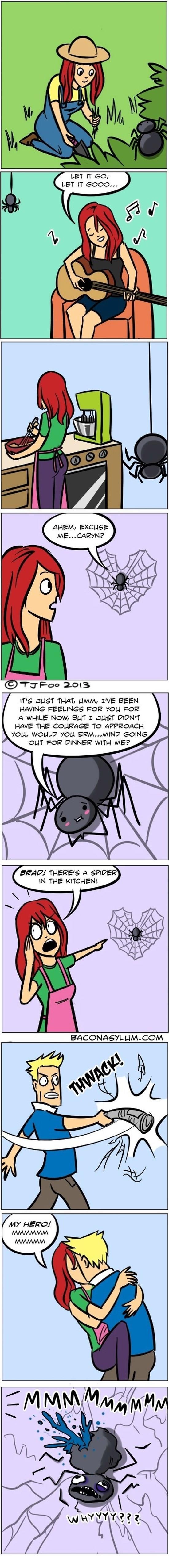 Spider Confession