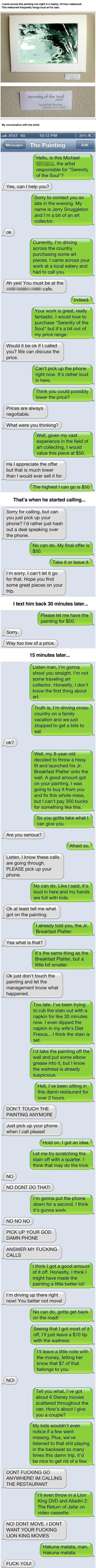 The Painting Prank