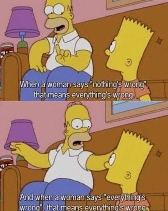 Wise words from Homer