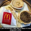 2 year old McDonalds