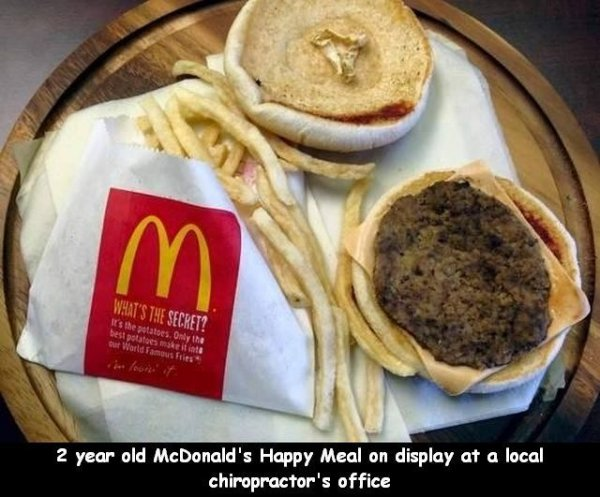 2 year old McDonalds