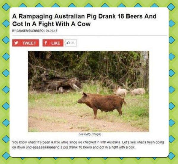 Australian rampage