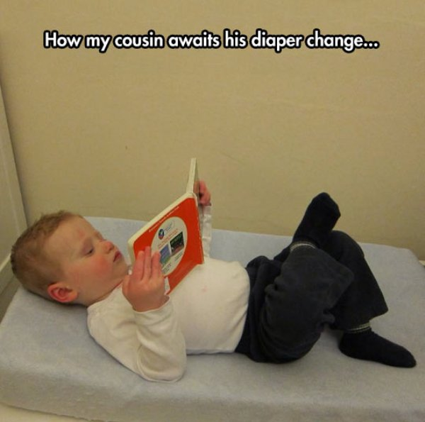 Diaper change time