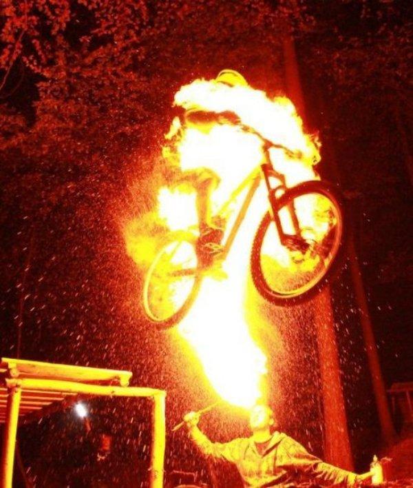 Fire jump