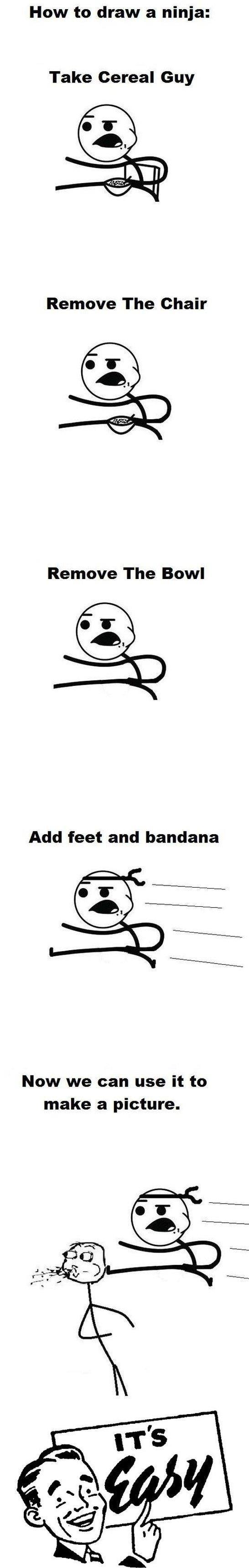 How to make a Ninja