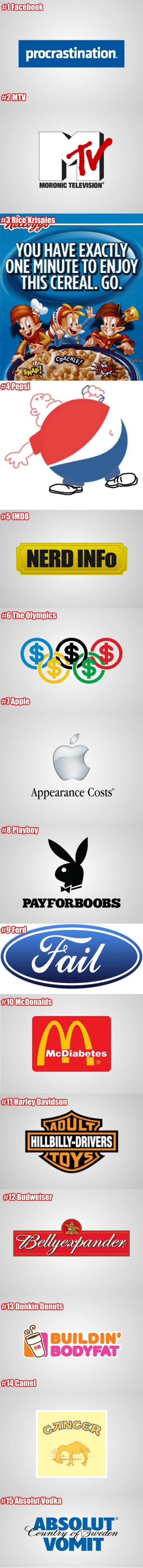 If Logos Were Honest